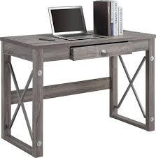 Office Desk Walmart Writing Desk With Metal Accents Walmart Ca S Room Ideas