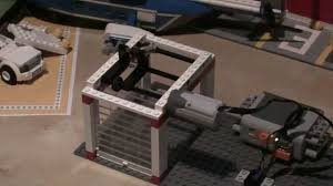 How To Build A Car Garage by How To Make Lego Automatic Garage Shutter Doors With Electric