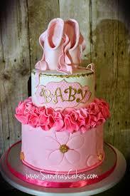 ballerina baby shower cake s cakes ballerina themed baby shower cake cakes