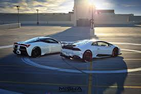 ferrari 458 ferrari 458 italia and lambo huracan show off misha designs body kits