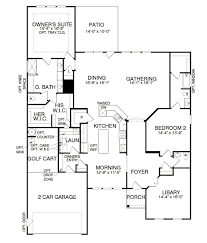 tangerly oak new home plan bluffton sc del webb home