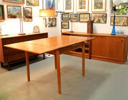 Modern Dining Table 2014 Found In Ithaca Danish Modern Dining Table With Expanding Leaves