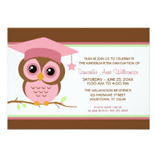kindergarten graduation cards kindergarten graduation invitations announcements zazzle