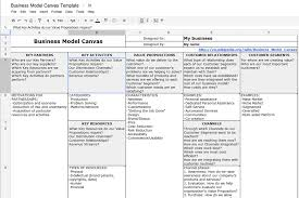 How To Make A Floor Plan On Microsoft Word by How To Create Business Model Canvas With Ms Word Or Google Docs