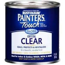 clear coat over latex paint forout door use the home depot community