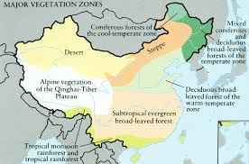 New York vegetaion images Major vegetation zones in china jpg