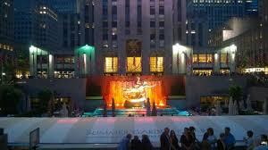Rockefeller Center Summer Garden - rink bar rockefeller center new york city midtown menu