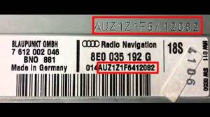 official audi radio code online audi car radio unlock service