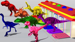 learn colors with dinosaurs for children learning colors