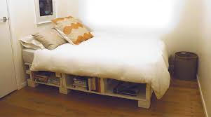 how do you make a bed make a bed base from pallets green ideas at home