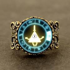 magic with rings images Gravity falls bill cipher wheel magic ring steampunk dr doctor who jpg