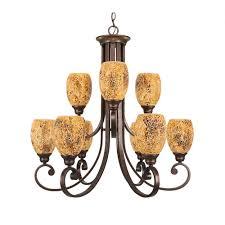 Wilshire Chandelier Maxim Lighting Pacific 7 Light Kentucky Bronze Chandelier With