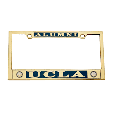 uc berkeley alumni license plate free license plate for ucla alumni credit union