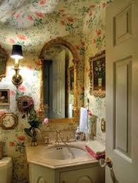 wallpaper ideas for bathrooms home tour a youthful whimsical l a home easy peasy wallpaper
