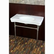 Bathroom Console Console Sinks You U0027ll Love Wayfair