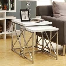 monarch specialties coffee table monarch specialties i 3 nesting table set lowe s canada