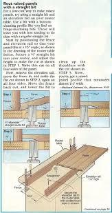 Kitchen Cabinet Door Router Bits 58 Best Cabinet Door Construction Images On Pinterest Cabinet