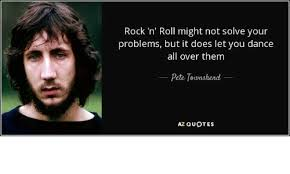 Memes Rock N Roll - rock n roll might not solve your problems but it does let you