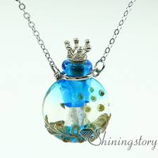 glass bottle necklace pendant images Essential oil necklace diffusers perfume pendants perfume vials jpg
