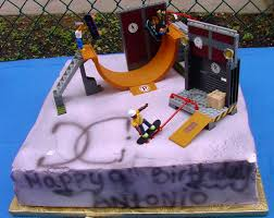 Tech Deck Ramps Tech Deck Birthday Cake Google Search Joey Bday Ideas