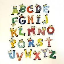 wooden letter bear design min order 3 letters quantity