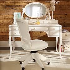 Cute White Desk Lilac Desk U0026 Vanity Mirror Hutch Pbteen
