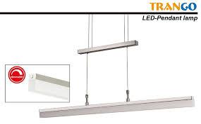 Esszimmerlampe Verschiebbar Trango Design Led Pendelleuchte Esstischleuchte Höhenverstellbar