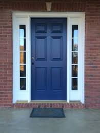 House Door by Red Brick House Door Colors Door I Love This Color Blue And