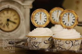 New Year S Eve Cupcake Decorations Ideas by Year Cupcakes Decoration Idea