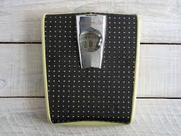 Yellow And Gray Bathroom Decor by Vintage Yellow Star Lite Counselor Bathroom Scale Light Up Dial