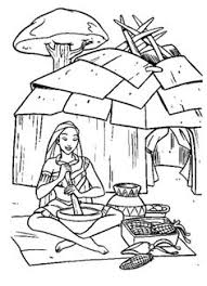 john rolfe and pocahontas kids coloring pages with free colouring
