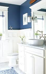 Bathroom Ideas Blue And White Blue And White Bathroom Realvalladolid Club