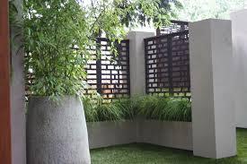 privacy yard screen modern outdeco mahjong fence garden screen