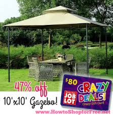 90 gazebo osjl how to shop for free with kathy spencer