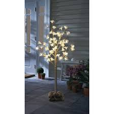 led tree order home collection 4ft magnolia blossom led tree free