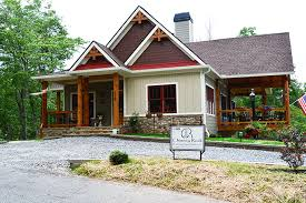 craftsman style home plans designs lake wedowee creek retreat house plan lake house plans