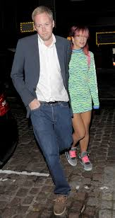 lily allen wears jumper dress and nike air jordans to chiltern