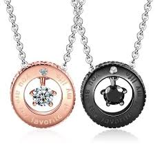all round necklace images Personalized round you are the favorite of my life couple jpeg