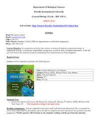 general biology ii lab u2013 bsc 1011l