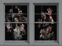 amazon com asylum halloween window decoration two 34 5
