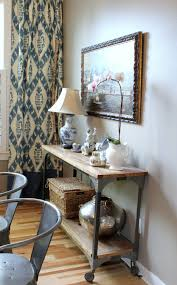 vintage style home decor ideas console tables best demilune console table narrow product