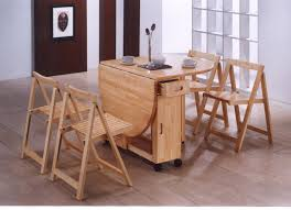 Folding Dining Table For Small Space Home Design Charming Small Kitchen Drop Leaf Table Emejing