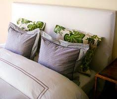 How To Make Your Own Fabric Headboard by Make A Headboard Using Egg Foam Instead Of Expensive Padding At