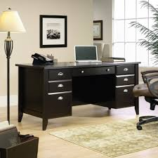 Executive Office Desks Sauder Shoal Creek Executive Desk Multiple Finishes Best Home