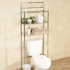 Bathroom Wicker Shelves by Bathrooms Design Scroll Chrome Bathroom Space Saver Cabinet