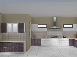 Rubberwood Kitchen Cabinets Modular Kitchens 2 Tone High Gloss Kitchens Manufacturer From