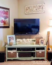 Wall Mounted Entertainment Console Turn An Entertainment Center Into A Tv Console Table