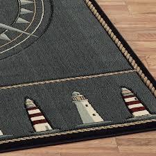 Nautical Kitchen Rugs Gorgeous Area Rugs Fabulous Nautical Elements Rug Coastal Themed