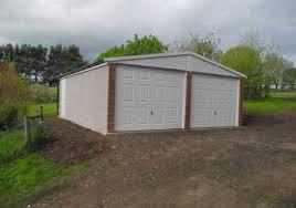 Apex Overhead Doors Plans For Building A Two Car Garage Single Garage Door Size Single