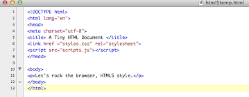 a tiny html document